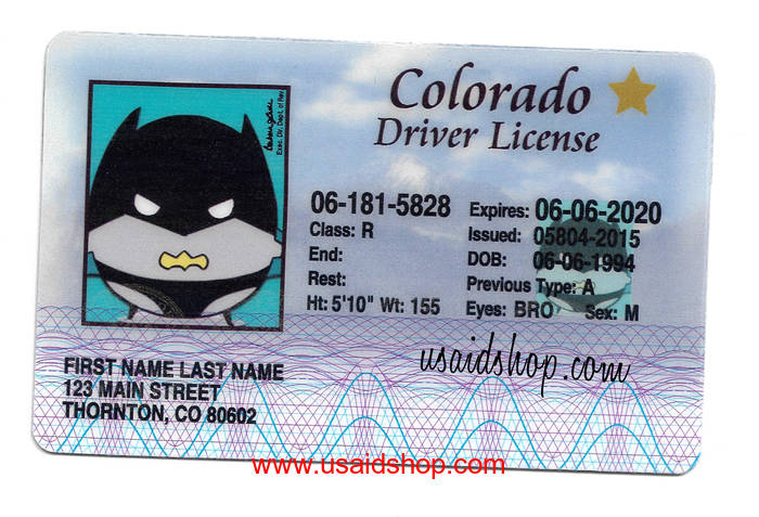 COLORADO Fake IDs