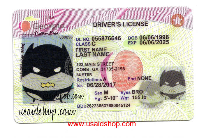 GEORGIA Fake IDs - Click Image to Close
