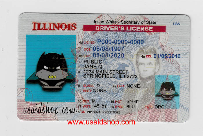 ILLINOIS-New Fake IDs