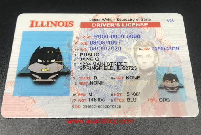 ILLINOIS-New Fake IDs - Click Image to Close