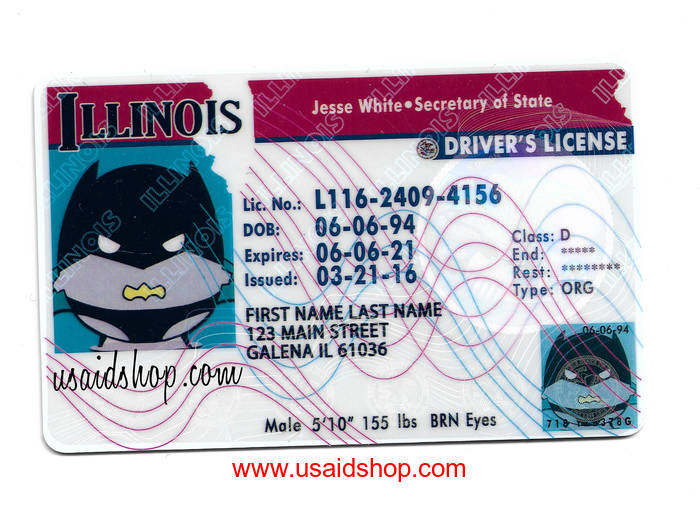 ILLINOIS Fake IDs - Click Image to Close