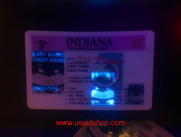 INDIANA Fake IDs