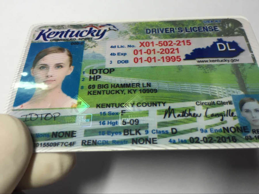 KENTUCKY Fake IDs