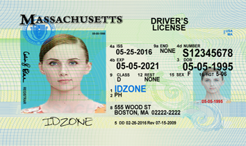 MASSACHUSETTS Fake IDs