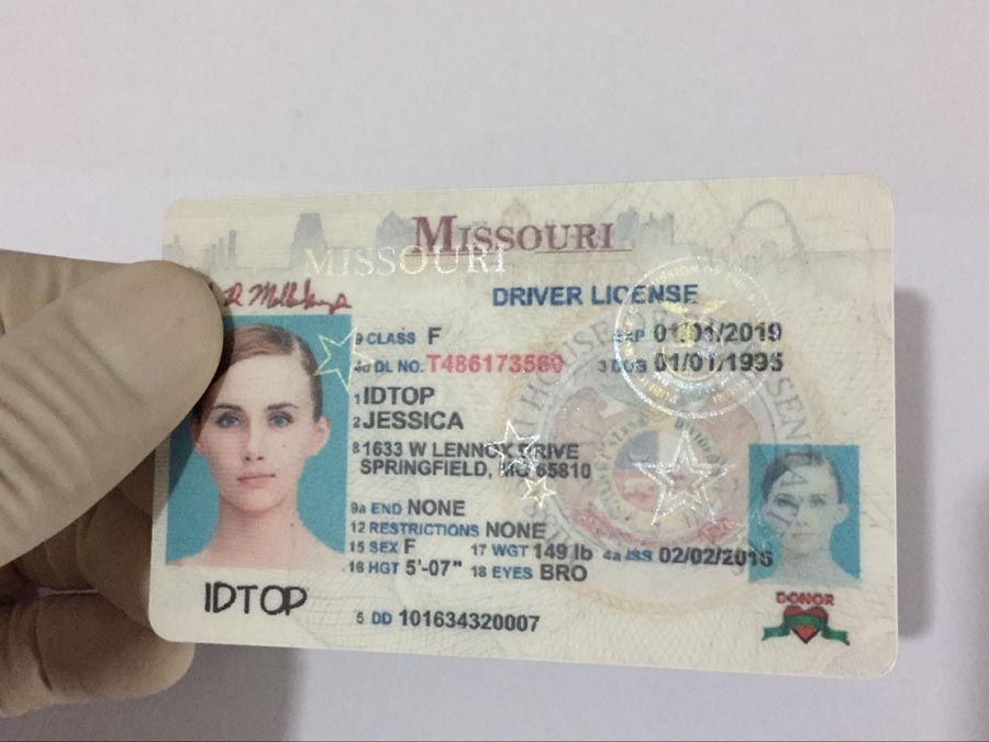 MISSOURI Fake IDs