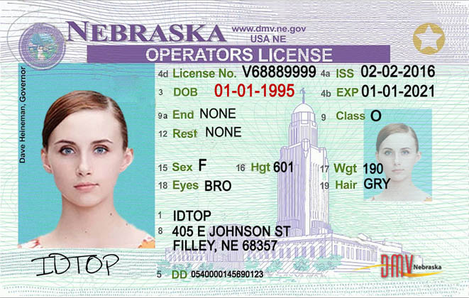 NEBRASKA Fake IDs