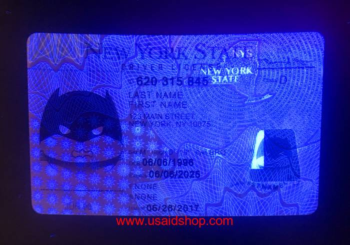 NEW YORK Fake IDs