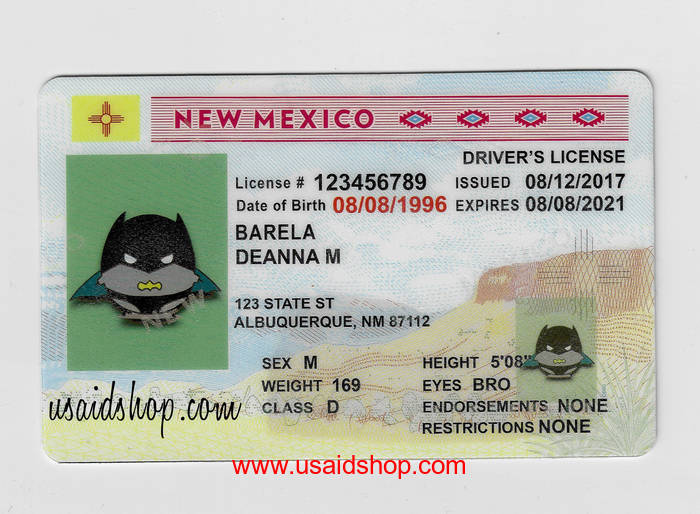 New Mexico Fake IDs