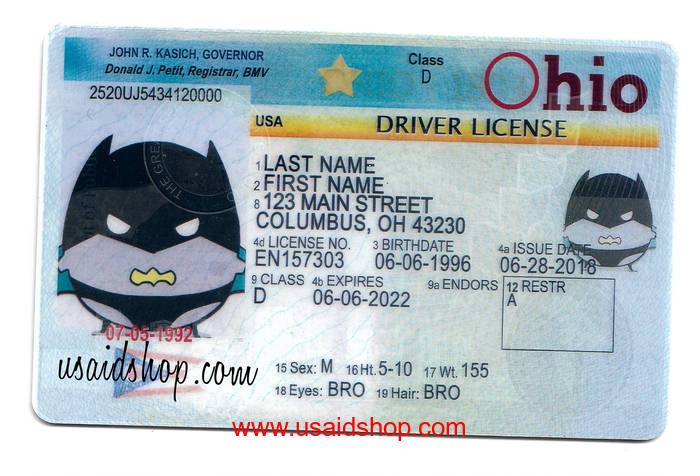 OHIO-New Fake IDs