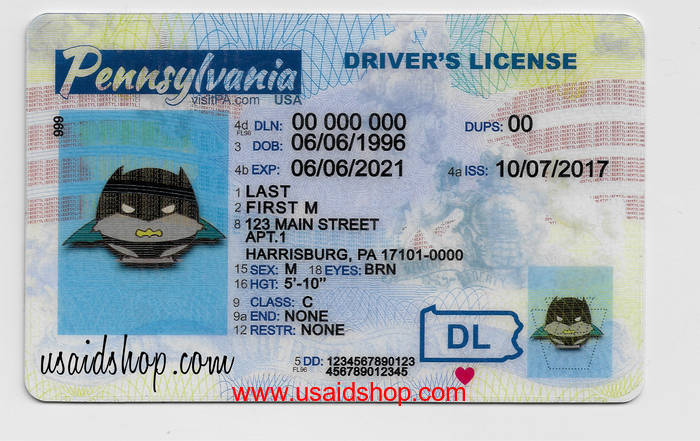 Pennsylvania Fake IDs