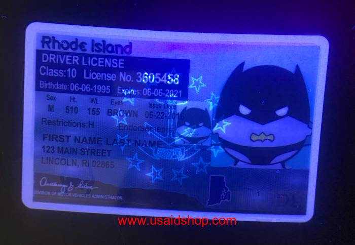 Rhode Island Fake IDs - Click Image to Close