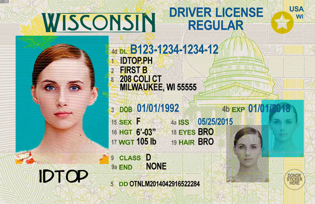 WISCONSIN Fake IDs
