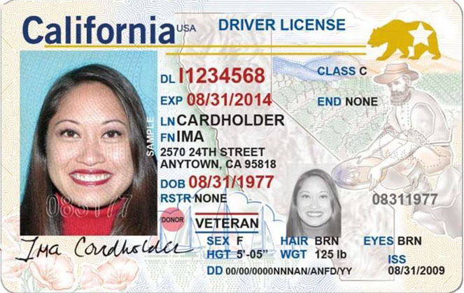 New California Fake IDs