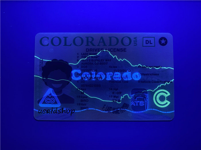 New Colorado Fake IDs