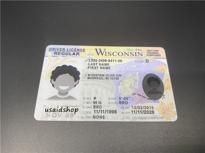 New Wisconsin Fake IDs